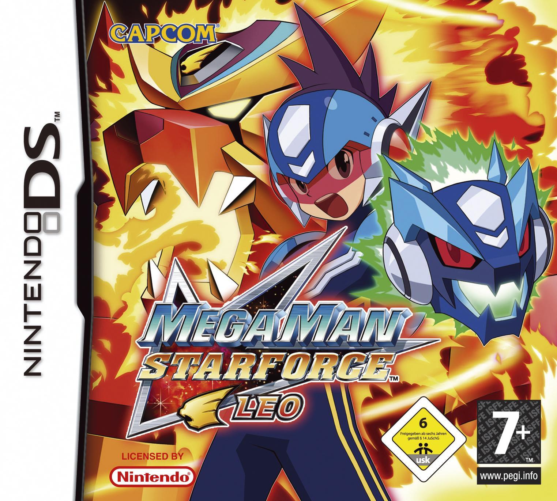 Mega Man Star Star Force Leo: