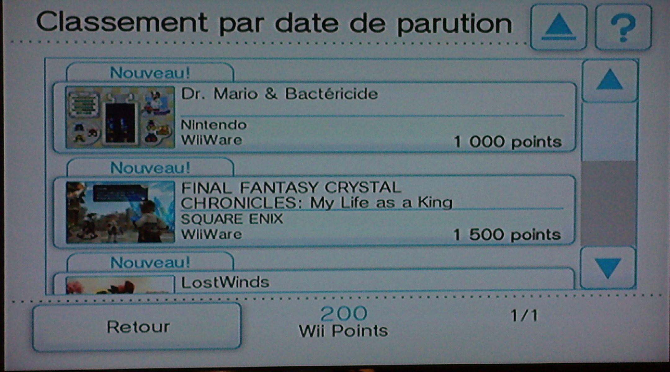 Dossier spécial Wii Ware 1211308430