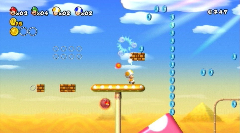 Test de new super mario bros wii nintendo master - Passage secret mario bros wii ...