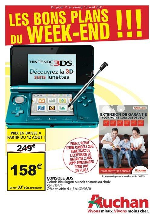 [3DS] Vous voulez une 3Ds pas chère ? Allez donc chez Auchan ! 1313016759
