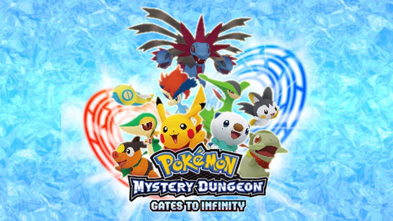 Pokémon Mystery Dungeon : Gates to Infinity officialisé en Europe