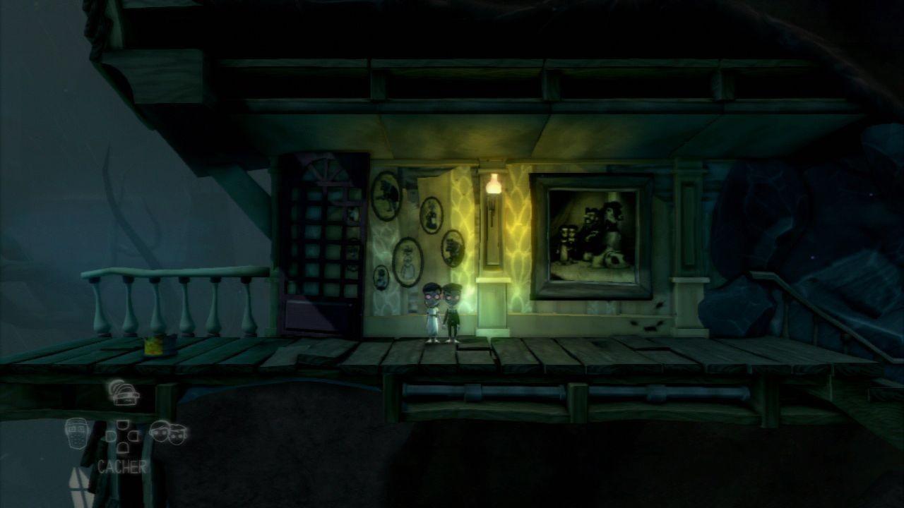test de the cave nintendo master. Black Bedroom Furniture Sets. Home Design Ideas