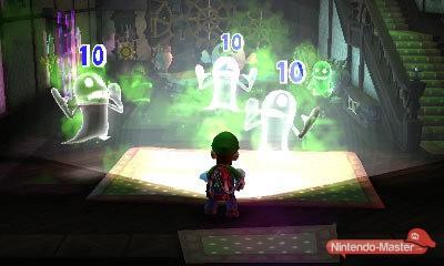 luigi's mansion 2 capture fantômes