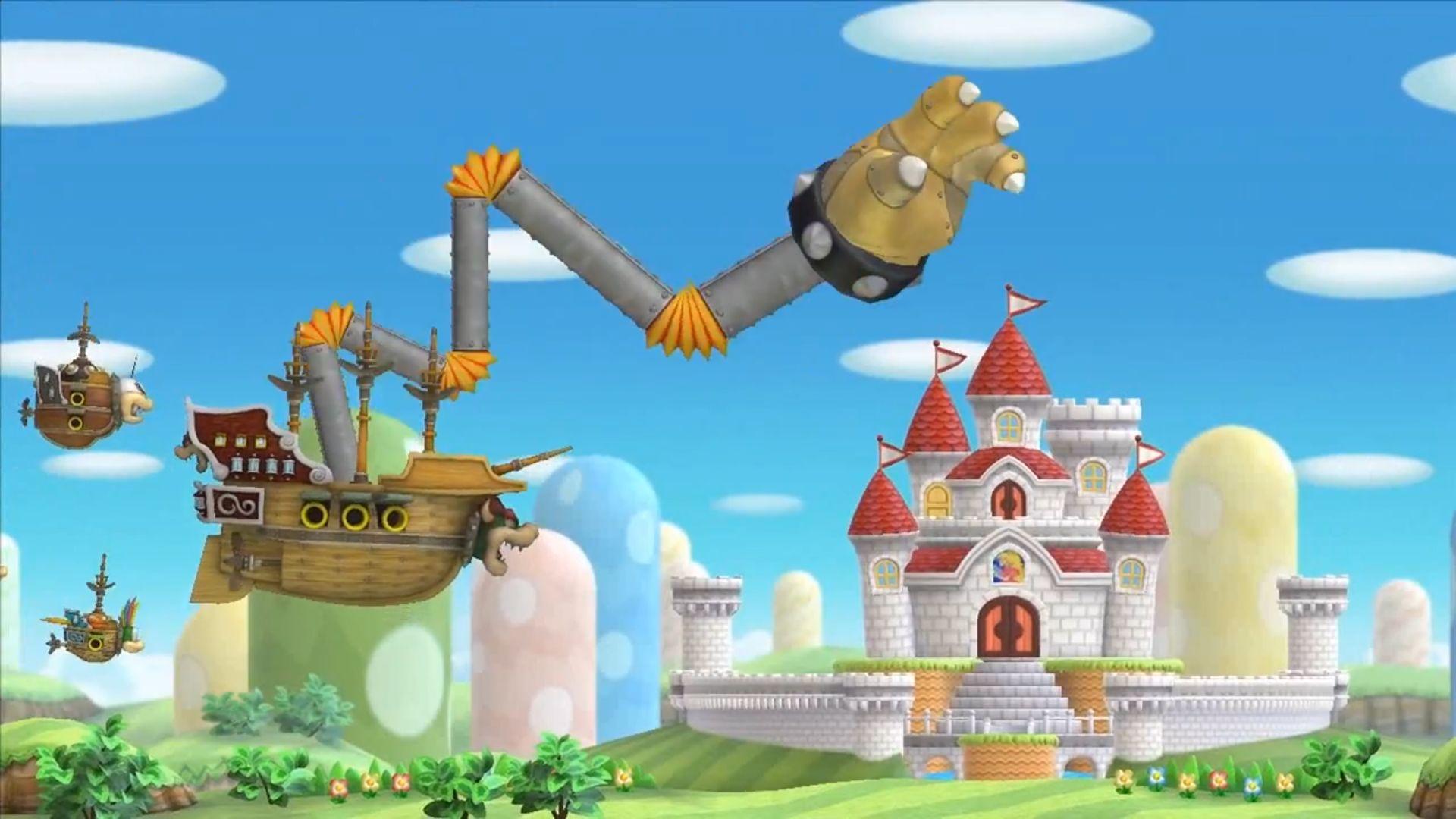 Coloriage Chateau De Bowser.Test De New Super Mario Bros U Nintendo Master
