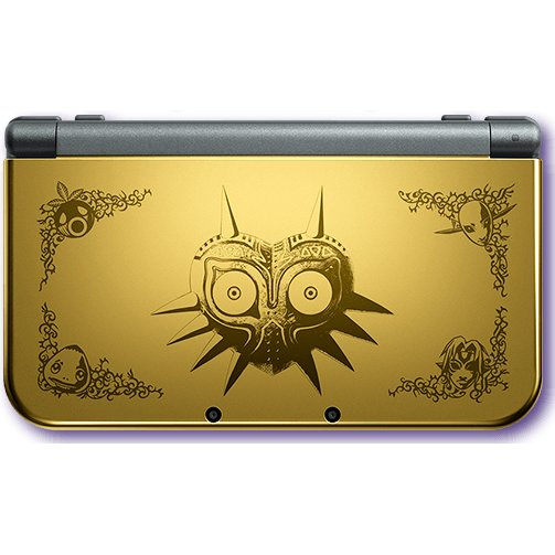 New 3DS collector Zelda majora's mask