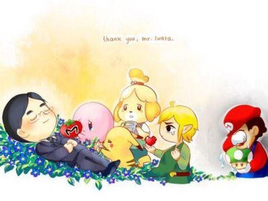 Satoru Iwata est mort le 11 juillet 2015 : les personnages Nintendo le pleurent
