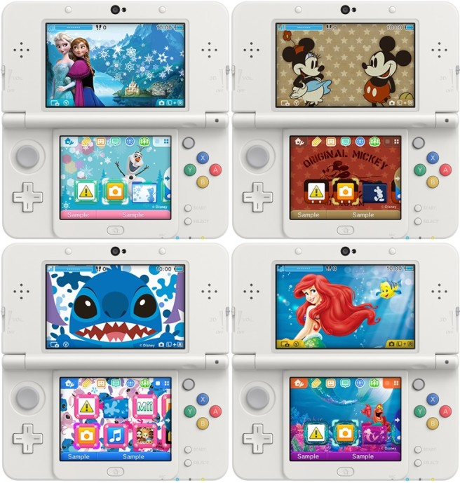 [Nintendo] La 3DS  - Page 40 Themes-disney