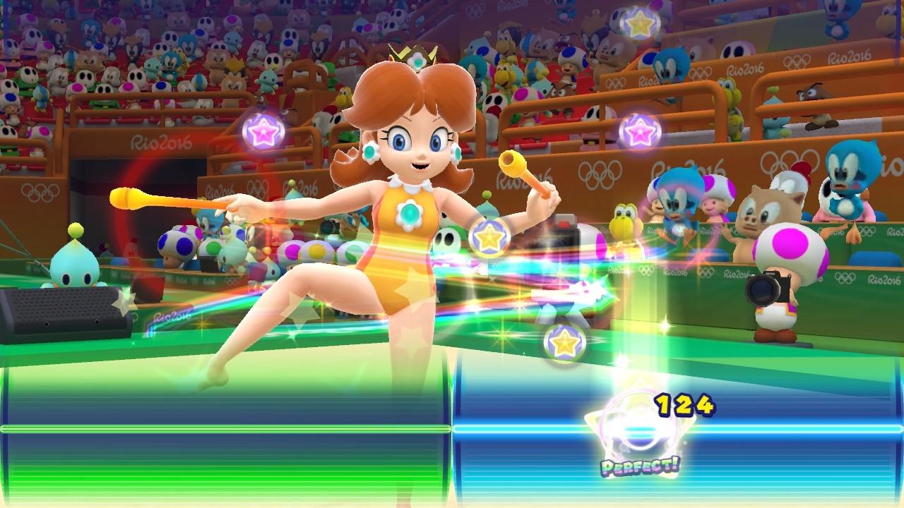 Disons le tout net Mario & Sonic aux Jeux Olympiques de Rio 2016 est sur Wii U une déception La réalisation du jeu est pourtant globalement bonne avec de
