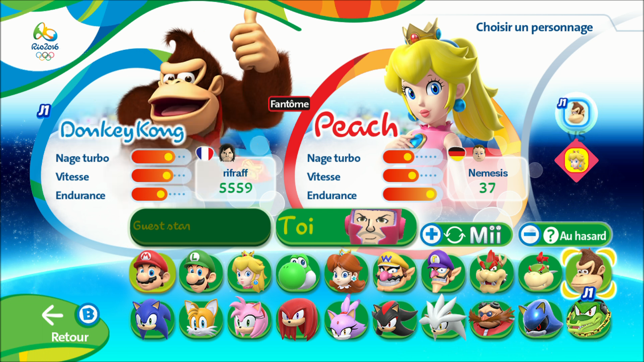Si vous possédez la version 3DS sachez que la majorité des épreuves est identique d une version  l autre retrouve ainsi outre les épreuves susnommées