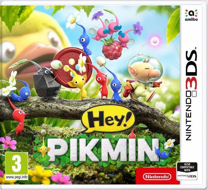 Hey Pikmin Des Images Et Une Boite Europ 233 Enne Nintendo 3ds Nintendo Master