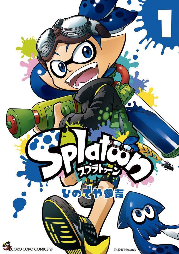 Splatoon Transformé En Dessin Animé Divers Nintendo Master
