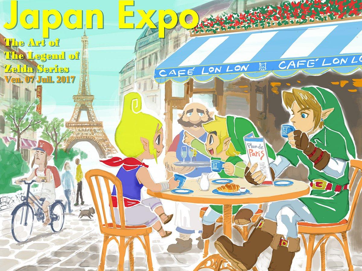 Japan expo 2017 zelda paris divers nintendo master - Japan expo paris 2017 ...