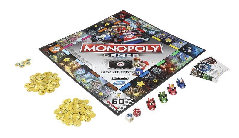 monopoly gamer dition mario kart d voil divers nintendo master. Black Bedroom Furniture Sets. Home Design Ideas