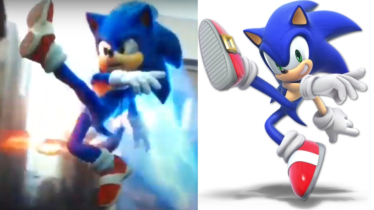Sonic Le Film Cache Une Reference A Super Smash Bros Divers