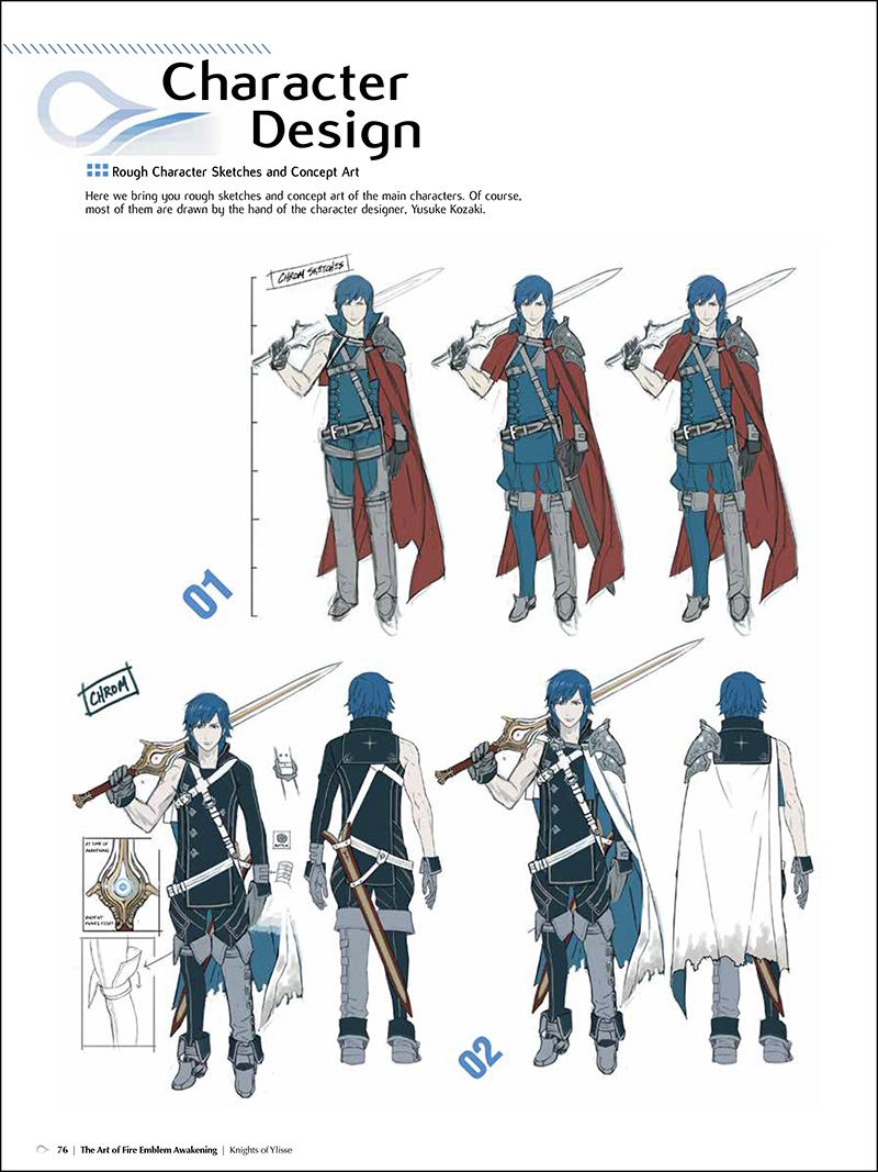 Character Design Masterclass Book : Brève the art of fire emblem awakening annoncé en août
