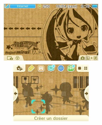 Un coup d'œil sur les thèmes pour menu 3DS Zelda : Twilight