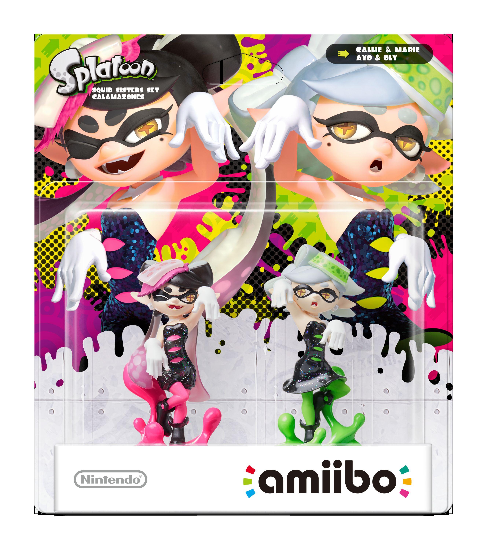 Splatoon Les Nouveaux Amiibo Prennent La Pose Nintendo