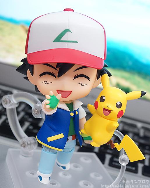 Un Coup D'œil Sur La Figurine Nendoroid Pokémon : Sasha Et