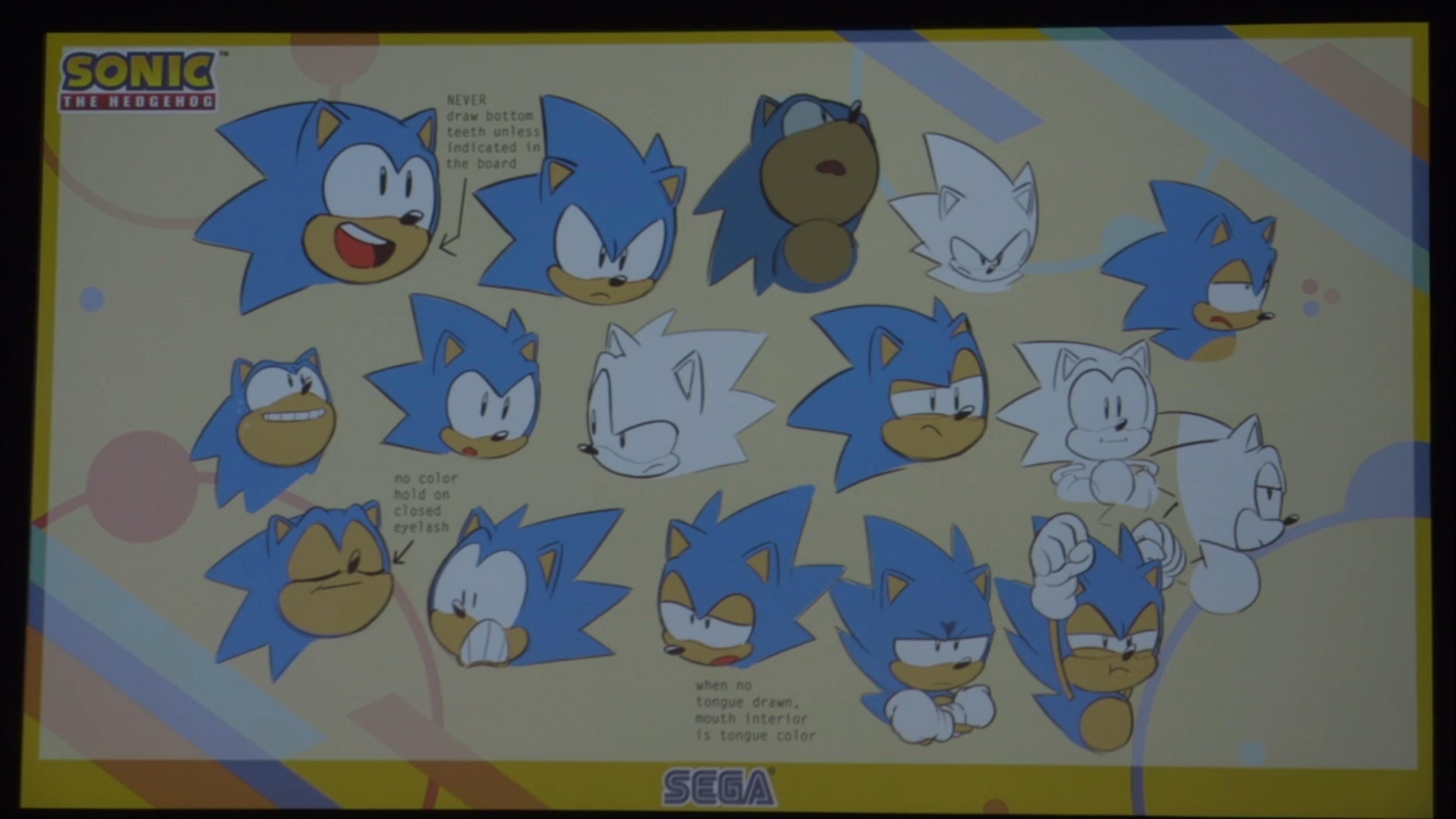 Sega Annonce Une S 233 Rie De Courts M 233 Trages Anim 233 S Sonic