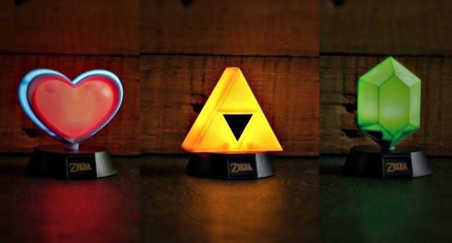Paladone Lance Une Gamme De Lampes Zelda Et Super Mario Divers