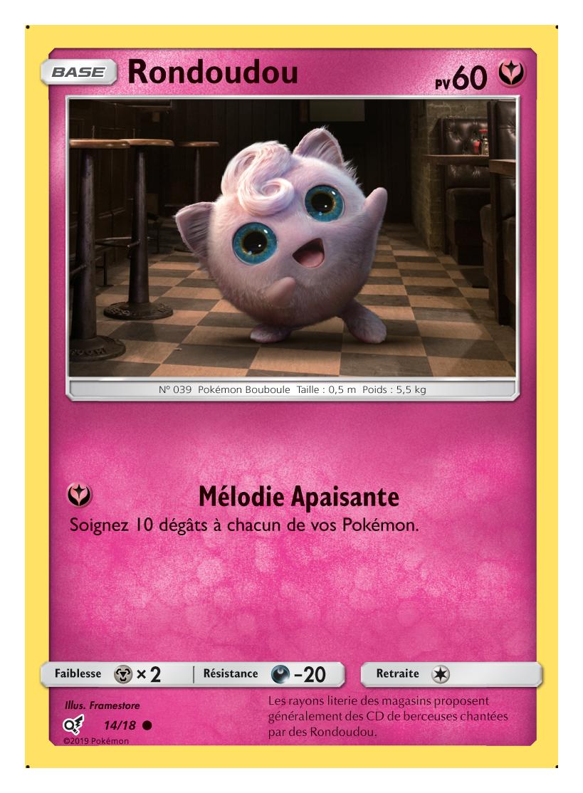 Premier coup d il sur les trading cards du film pok mon detective pikachu divers nintendo - Carte pokemon fee ...