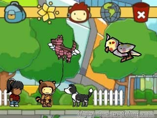 scribblenauts unlimited how to play as mario