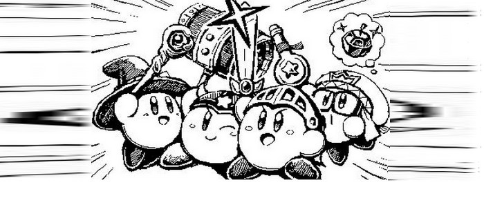 Coloriage Kirby Triple Deluxe Coloriage99 Net