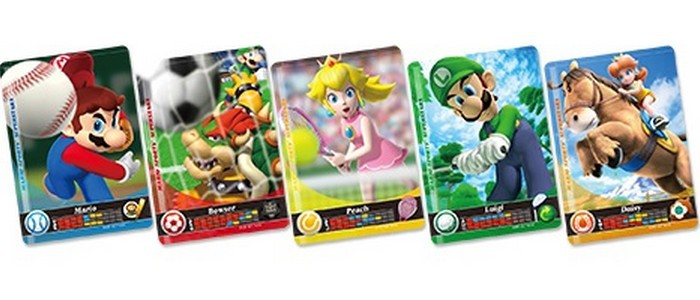 Des cartes amiibo pour Mario Sports Superstars