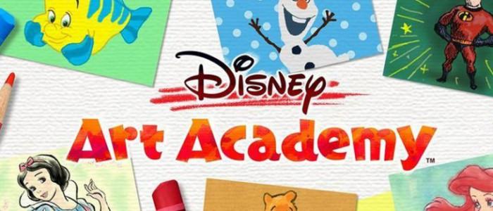 Disney art academy le jeu pour apprendre dessiner des personnages disney est disponible - Dessiner disney ...