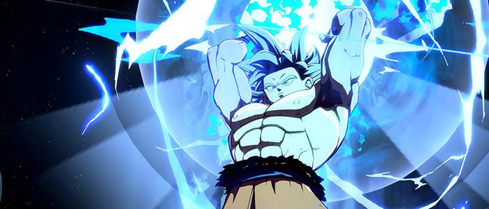 Dragon Ball Fighterz Son Goku Ultra Instinct Prend La Pose Nintendo Switch Nintendo Master