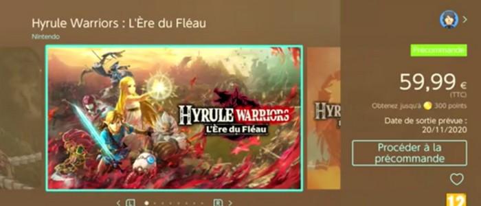 Hyrule Warriors L Ere Du Fleau Des Images Et Un Rendez Vous Le 26 Septembre Nintendo Switch Nintendo Master