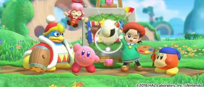 Kirby Star Allies La Mise à Jour Avec Dark Meta Knight