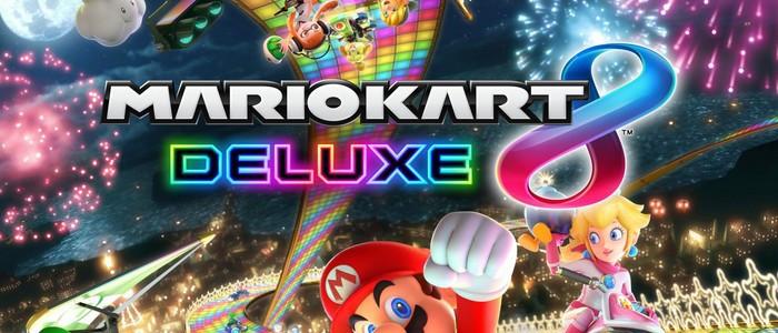 Coloriage Mario Kart 8 Deluxe