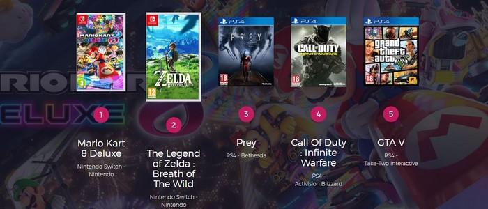 Zelda Breath Of The Wild Ps4 mario kart 8 dx & zelda breath of the wild en tête des ventes de