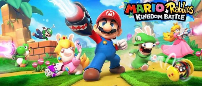 Mario Rabbids Kingdom Battle Premières Images Et Informations