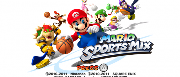 mario sports mix le jeu wii revient sur cv cette semaine. Black Bedroom Furniture Sets. Home Design Ideas