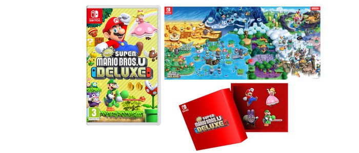 Coloriage New Super Mario Bros U Deluxe