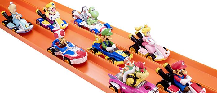 Nintendo Et Mattel Signent Pour Des Jouets Hot Wheels Aux