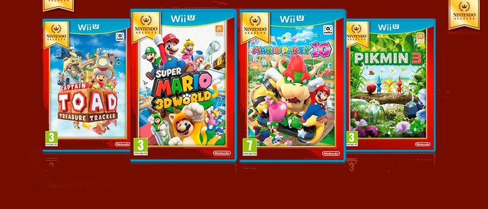 Nintendo Selects Ajoute Pikmin 3 Super Mario 3d World Mario Party