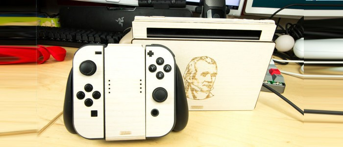 Nintendo switch un coup d il sur une customisation qui envoie du bois switch nintendo master - Oeil qui gonfle d un coup ...