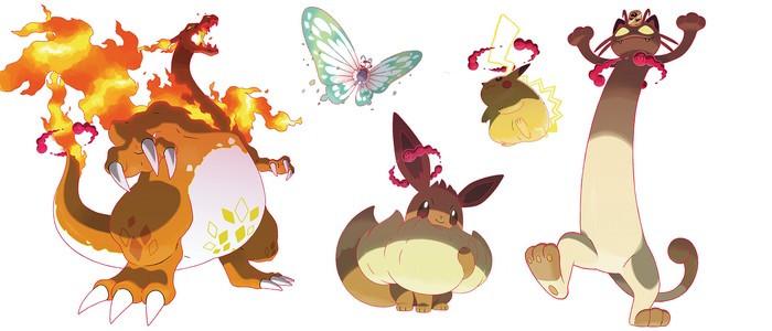 Pokemon Epee Bouclier Decouvrez Les Formes Gigamax De Pikachu