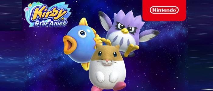 Rick Kine Et Coo Jouent Les Premiers Rôles Dans Kirby Star