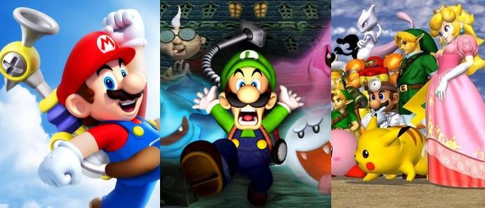 Rumeur] Super Mario Sunshine, Luigi's Mansion et Super Smash