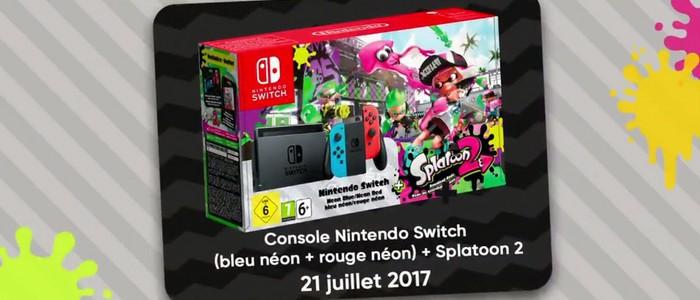 Nintendo switch splatoon 2 prix