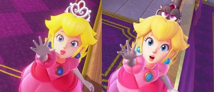 Super Mario Odyssey Peach Perd Sa Tiare Mais Gagne Une