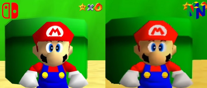 Super Mario 64 : vidéo de comparaison des versions N64 vs Nintendo Switch - Nintendo Switch - Nintendo-Master