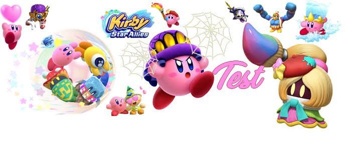 Test Kirby Star Allies Nintendo Switch Nintendo Master