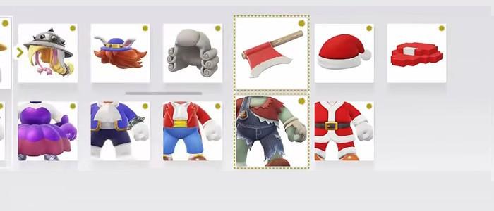 Vidéo Des Costumes Cachés à Venir Dans Super Mario Odyssey
