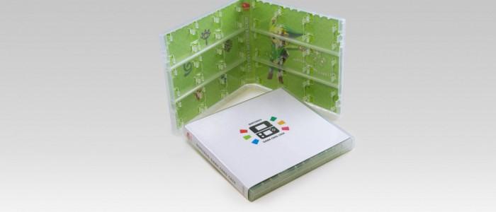 une boite zelda pour ranger les jeux ds et 3ds dans le club nintendo europe nintendo 3ds. Black Bedroom Furniture Sets. Home Design Ideas