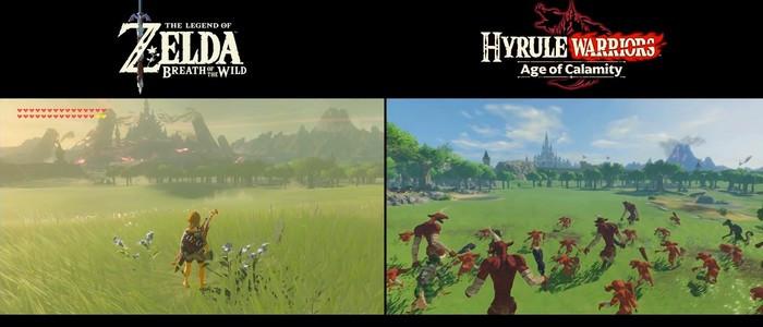 Zelda Breath Of The Wild Vs Hyrule Warriors L Ere Du Fleau Comparaison Points Communs Et Differences Nintendo Switch Nintendo Master